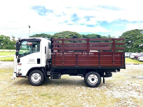 Isuzu NLR77UEE-Wooden Cargo kelantan