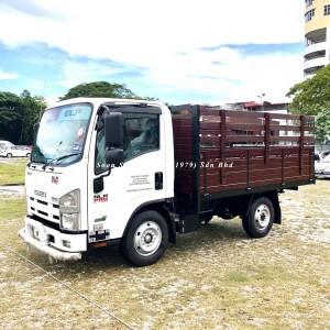 Isuzu NLR77UEE-Wooden Cargo 2019