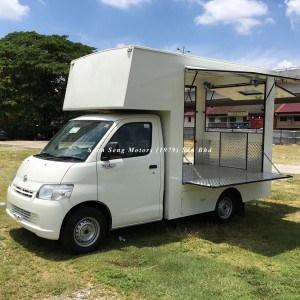 Daihatsu granmax mobile cafe truck