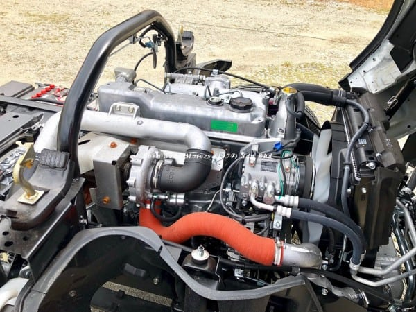 Fuso FE71PE chassis engine 2