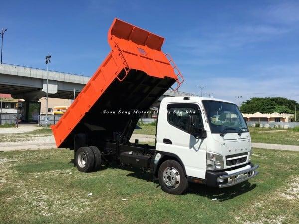 Fuso FE85PE-Steel Tipper Truck recon