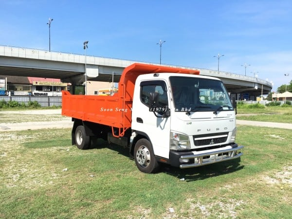 Fuso FE85PE-Steel Tipper Truck new
