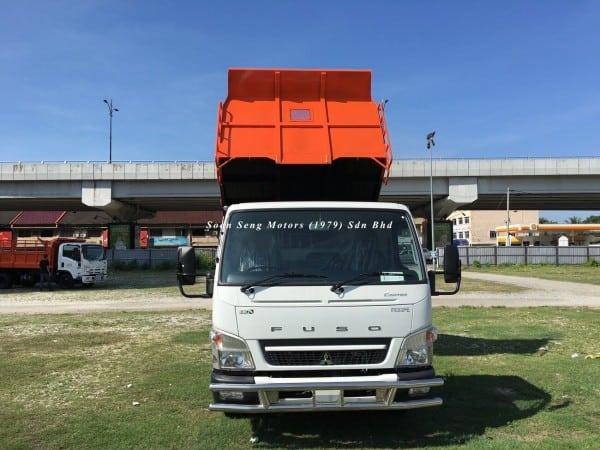 Fuso FE85PE-Steel Tipper Truck overall