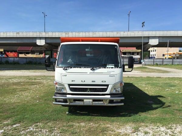 Fuso FE85PE-Steel Tipper Truck front view