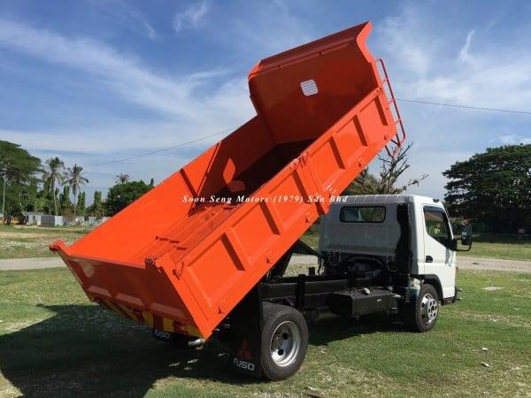 Fuso FE85PE-Steel Tipper Truck