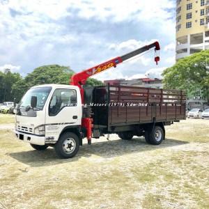 Isuzu Crane Truck_Unic V340 Crane supply