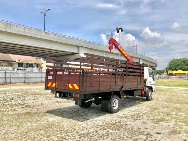 Isuzu Crane Truck_Unic V340 Crane