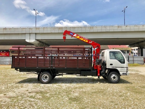 Isuzu Crane Truck_Unic V340 Crane truck