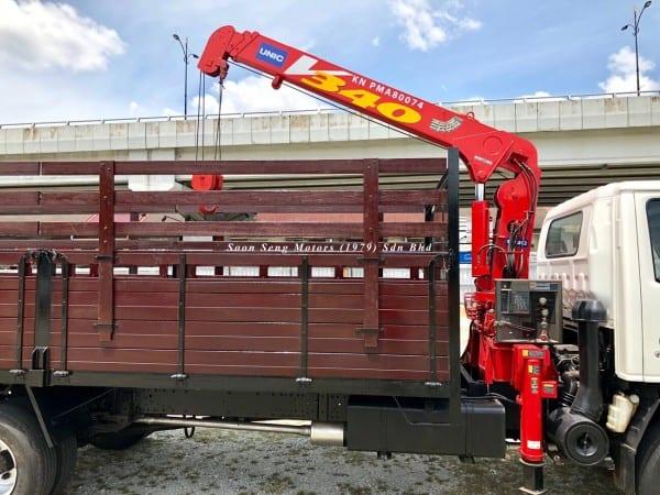 Isuzu Crane Truck_Unic V340 Crane soon seng