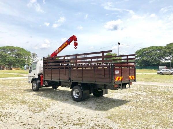Isuzu Crane Truck_Unic V340 Crane malaysia
