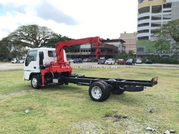 Isuzu NPR66P Crane Truck-Tadano TM20-ZH soon seng