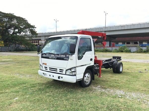 Isuzu NPR66P Crane Truck-Tadano TM20-ZH malaysia