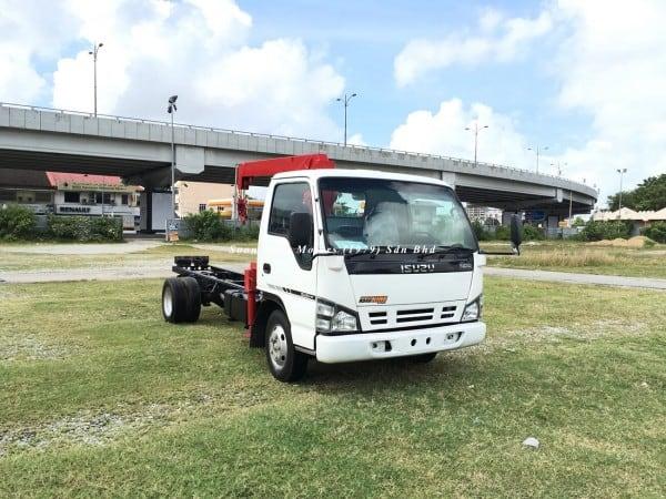 Isuzu NPR66P Crane Truck-Tadano TM20-ZH