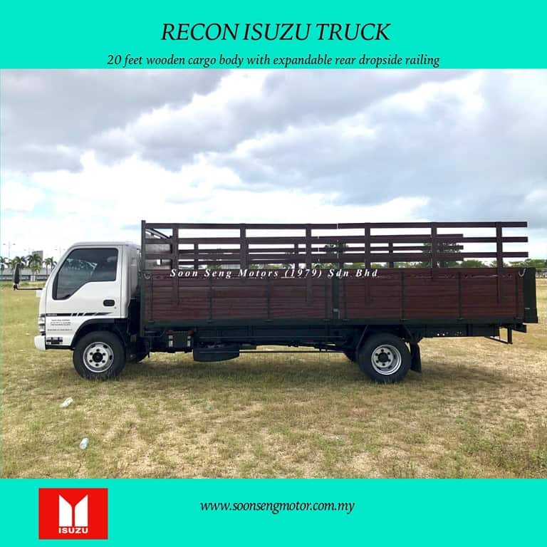 wooden cargo type body