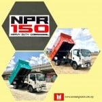 Isuzu NPR75UHL Steel Tipper heavy duty